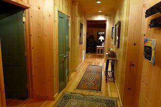 Photo: Hallway to the living room