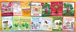 Skolēnu radošo darbu sērijā izdotās grāmatas