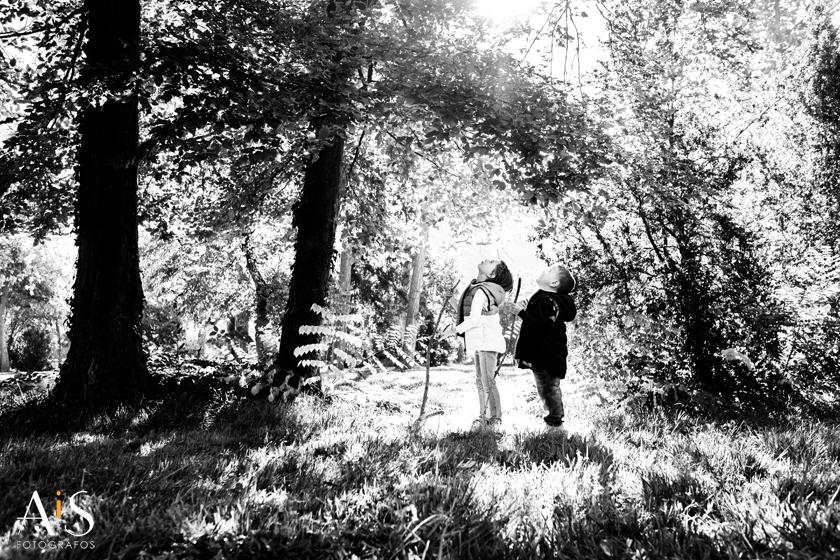 Reportaje de fotos de familia en Aranjuez