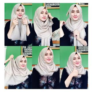 2020 70 Cara Memakai Jilbab Segi Empat Android App Download Latest