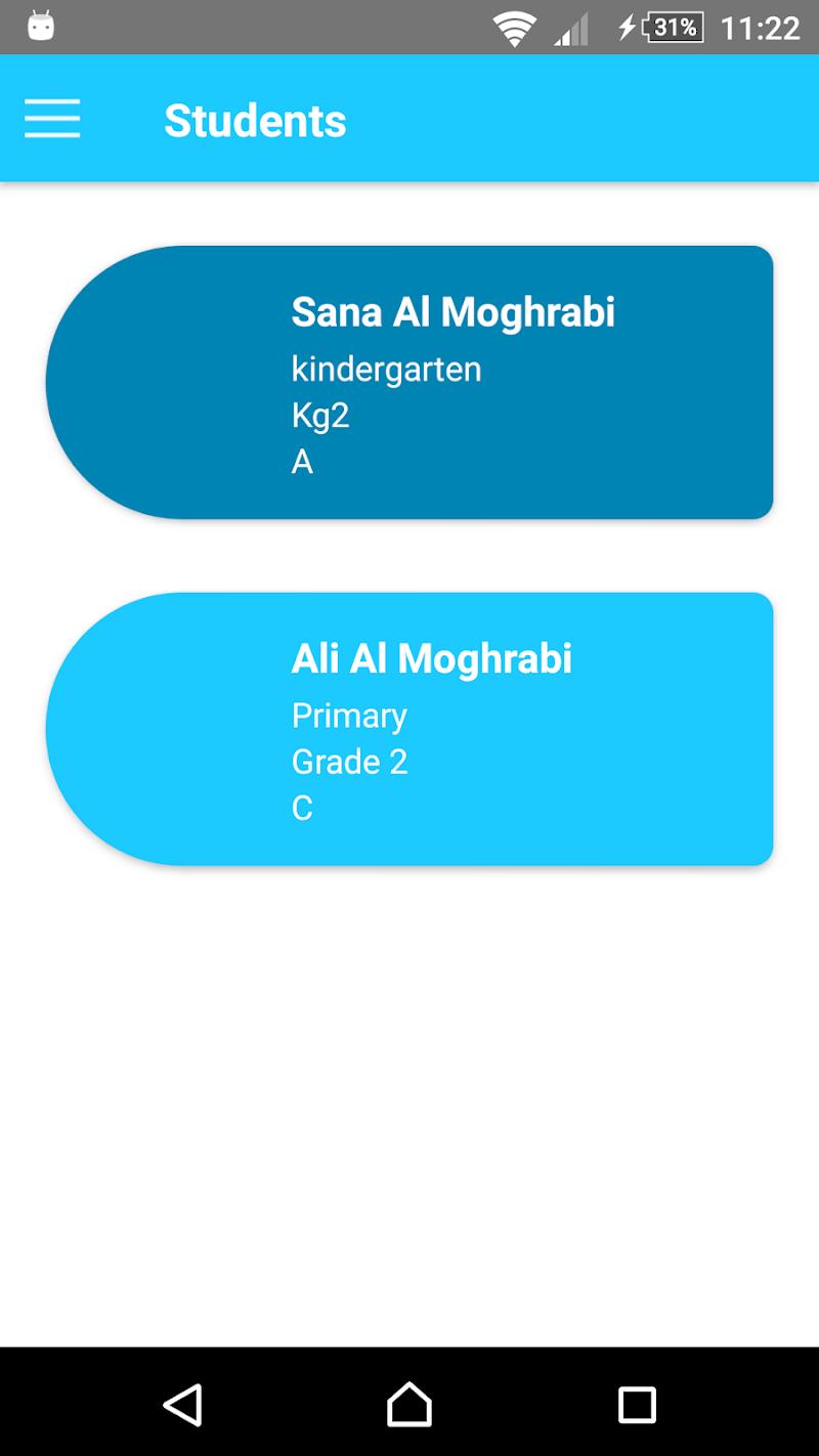 Скриншот Kabelias Ahlia School