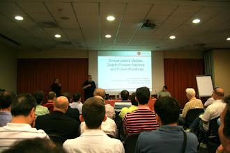 Photo: La presentazione di David I