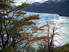 Photo: Autumn is on its way in Los Glaciares National Park