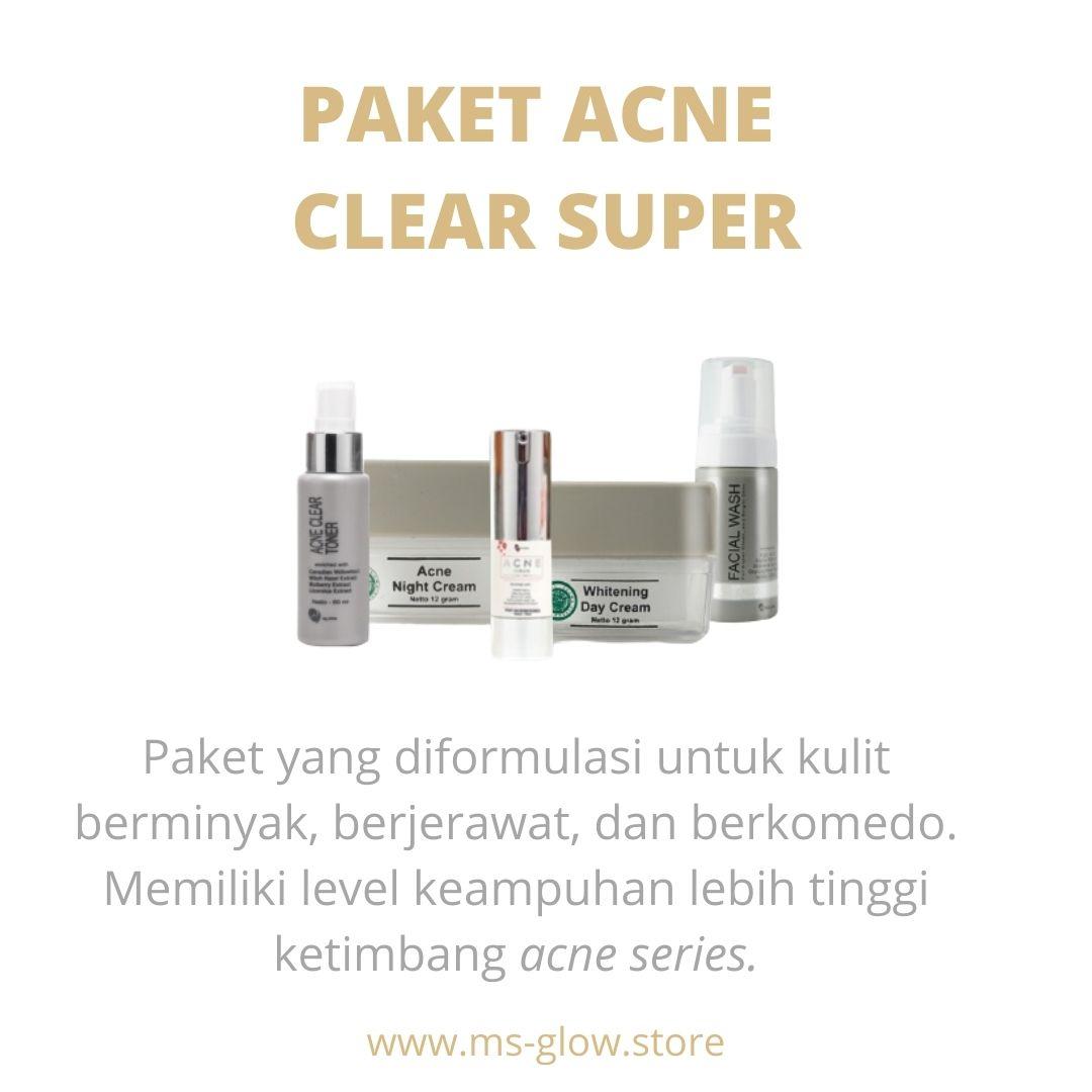 Paket Acne Clear Super