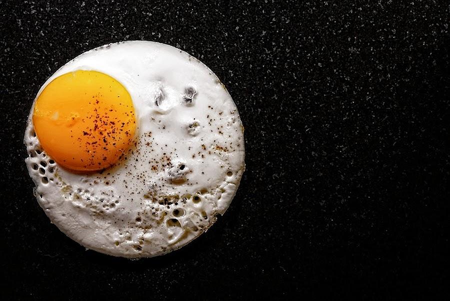 Cosmic Over Easy by Jeff Dugan - Uncategorized All Uncategorized ( unusal, contest, egg, space,  )