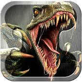 Hunting Jungle Dinosaur