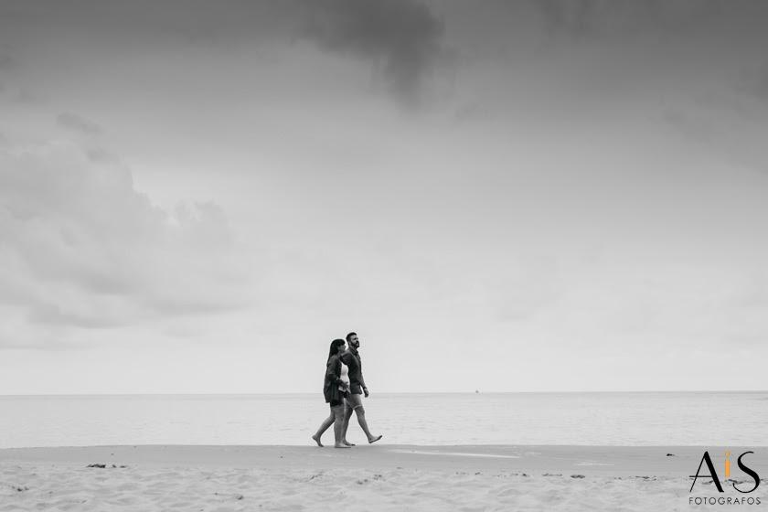 Reportaje premamá en la playa