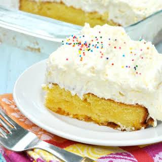 Orange Pineapple Fluff Cake.