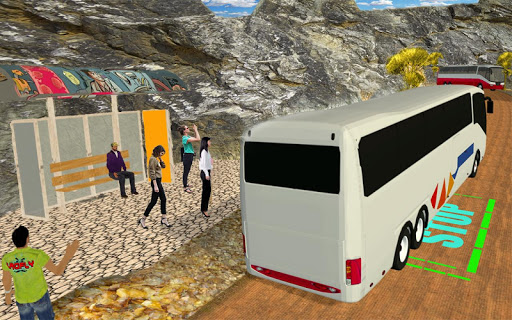 Offroad Bus Simulator 3D 2018 cheat screenshots 2