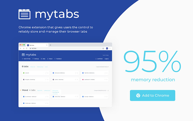 MyTabs: Browser Tab Manager
