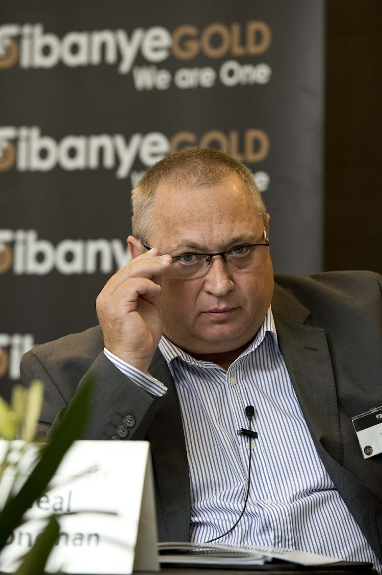 Sibanye Gold CEO Neal Froneman. Picture: MARTIN RHODES