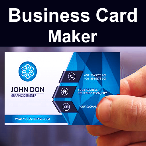 Business Card Maker Free Visiting Card Maker photo App