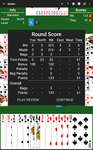 Spades by NeuralPlay 3.43 10