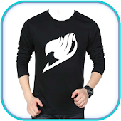 Men Designed T-Shirt Foto Suit Editor