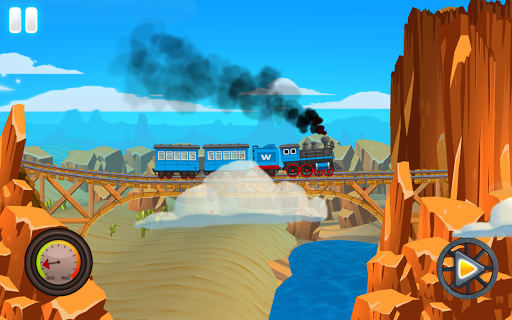 Western Train Driving Race screenshot 14