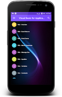 Visual Basic for Application - náhled