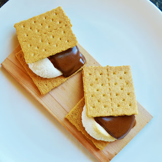 Cedar Planked S'mores