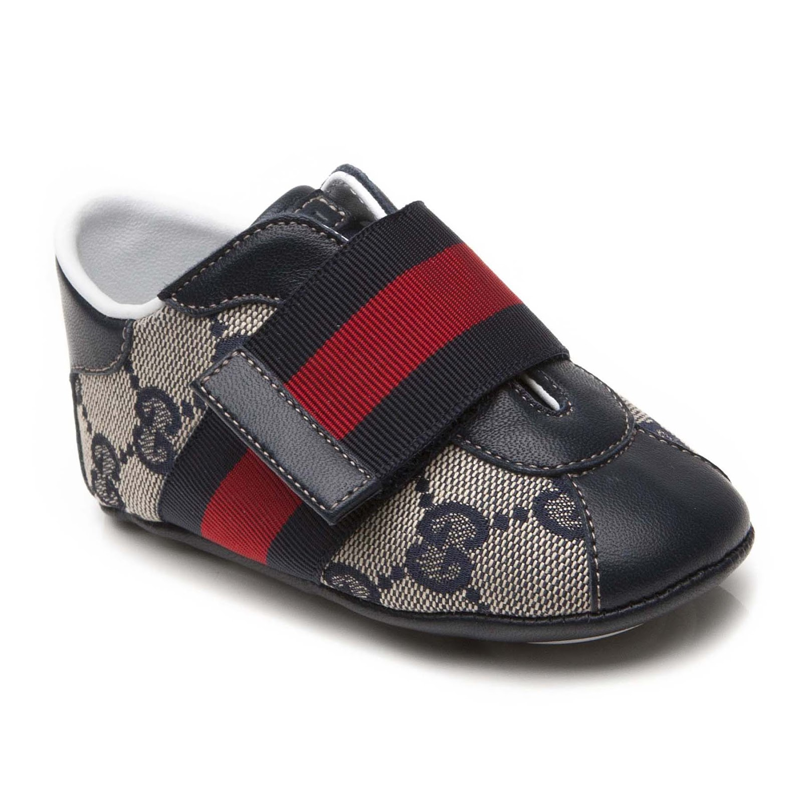 4580d46ae9d Gucci BRANDED PRAM TRAINER