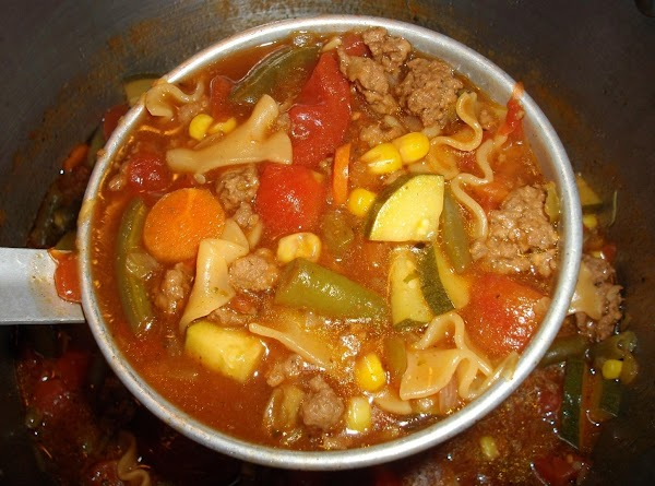 Zesty Italian Hamburger Helper Soup Recipe