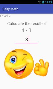 Easy Math - náhled