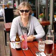 Photo: Degree -ravintolassa - huomaa ruotsalainen Rekorderlig -siideri, pakko tilata, kun moneen viikkoon ei tätä ennen ollut siideria ollut tarjolla