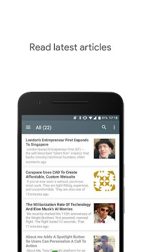 免費下載新聞APP|TechCrunch News Reader app開箱文|APP開箱王