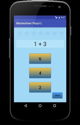 android Minirechner Plus(+) Screenshot 0