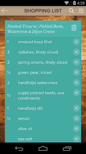 Screenshot for Food Fix Up in United States Play Store