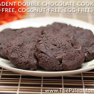 Decadent Double Chocolate Cookies (Nut-free, Coconut-free, Egg-free)