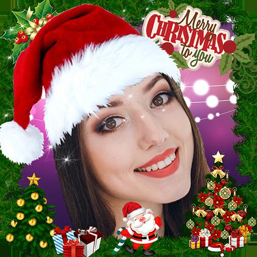 Christmas Face Sticker