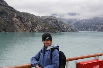 Photo: Even though it was August. Glacier Bay was much colder than I expected!