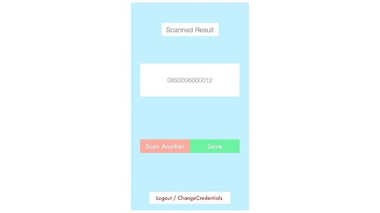 CIRCE Barcode To Salesforce- screenshot thumbnail