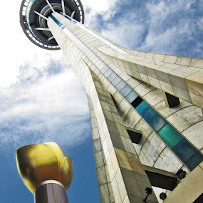 Macau TV Tower by Lindra Hismanto - Buildings & Architecture Statues & Monuments ( tower, lindra, tv, macau, hismanto )