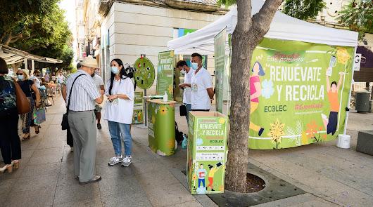 Un árbol en Almería por cada kilo de residuos electrónicos que se recoja