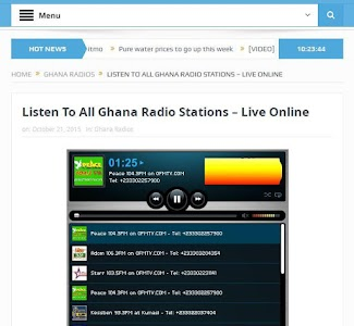 GhanaSky GTV, Adom TV screenshot 17