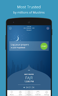 Athan - Prayer times and Qibla Screenshot