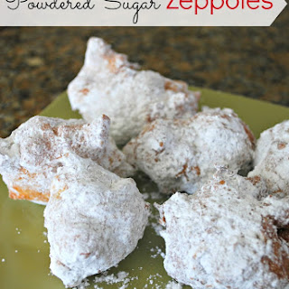 Powdered Sugar Zeppoles – Keep Good Going.