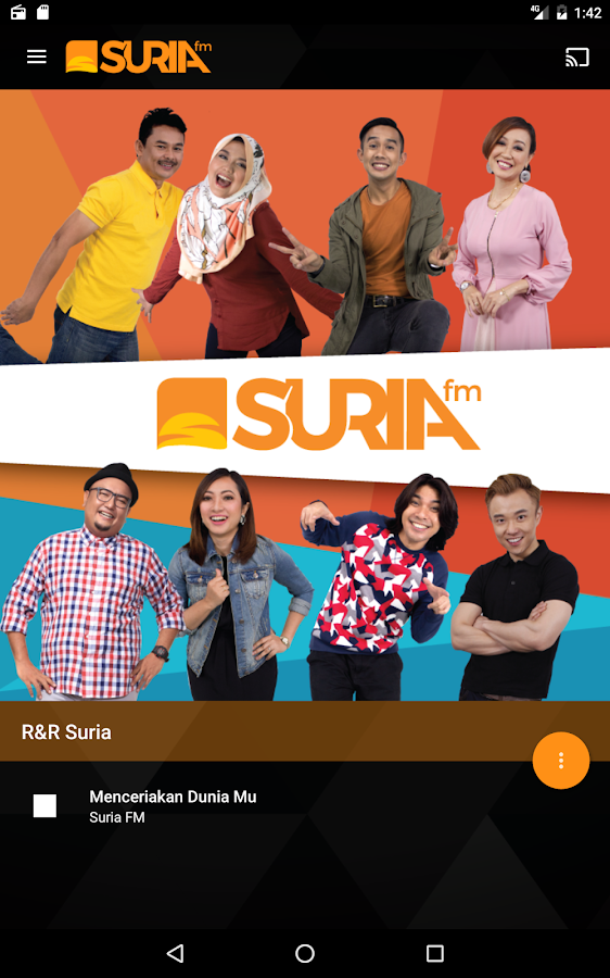 Suria FM- screenshot