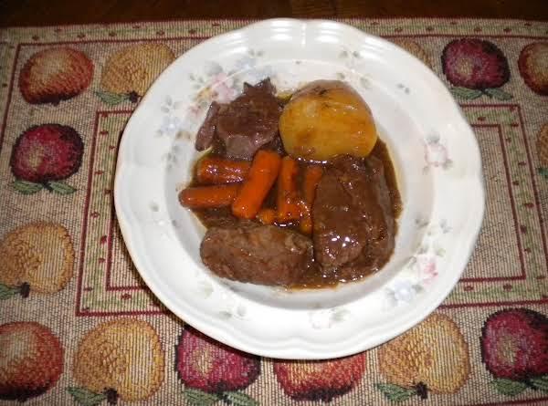 Crock Pot Chuck Roast Recipe