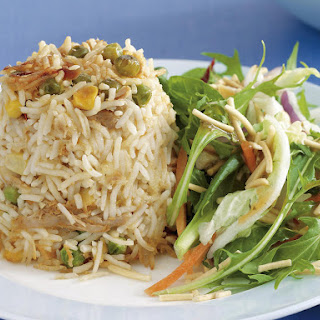 Curried Rice Timbale.
