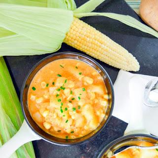 Easy Potato & Corn Chowder
