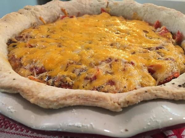Garden Fresh Tomato And Bacon Pie Recipe