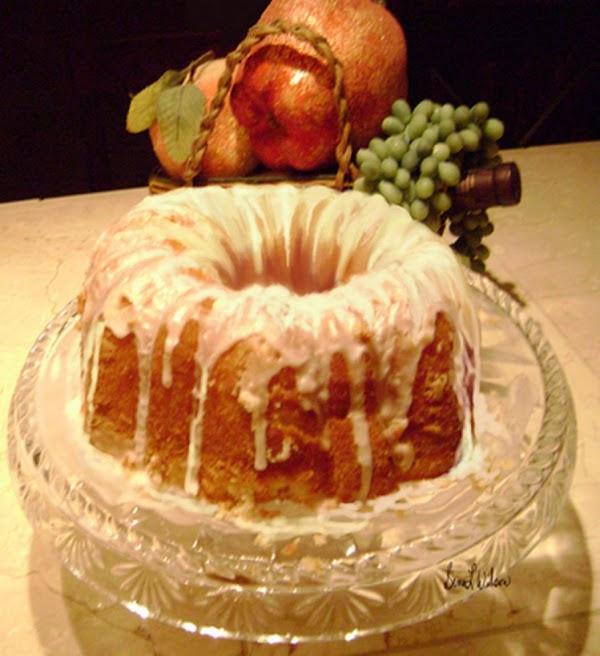 Tropical Pound Cake Recipe