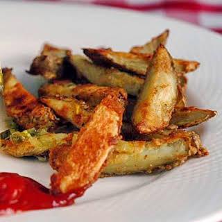 Low-Fat Seasoned Crispy Oven Fries.