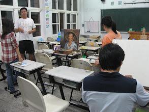 Photo: 20111011頭份(二)油畫創作003