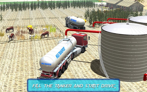 Off Road Milk Tanker Transport
