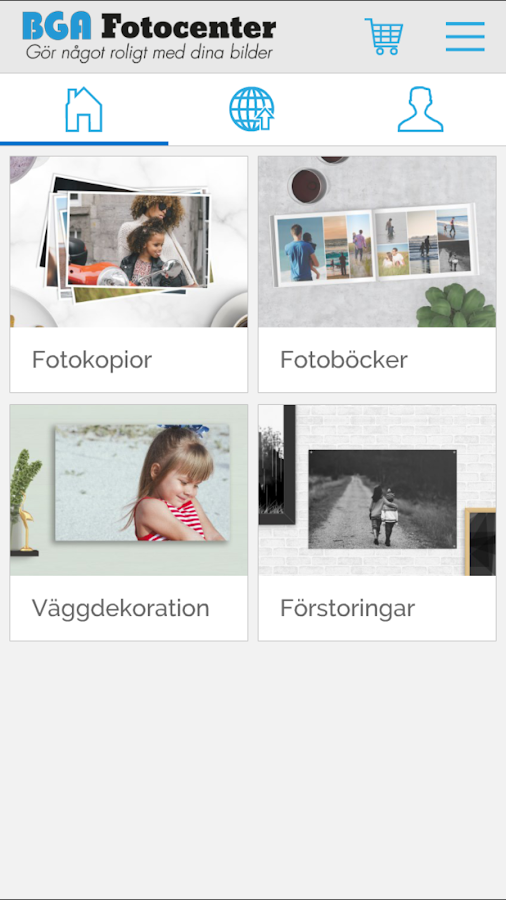BGA Fotocenter- screenshot
