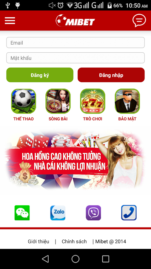 Mibet free- screenshot