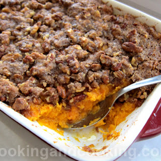 Sweet Potato Casserole with Pecan