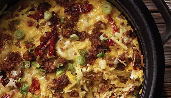 Crock Pot Hash Brown Breakfast Casserole Recipe